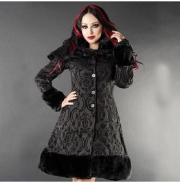 Elvira Brocade Winter Coat