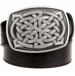Steampunk Celtic Knot Buckle Belt