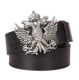 Steampunk Double Eagle Buckle Belt