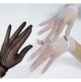 Darkforest Cosplay Retro Fishnet Lace Gloves Womens Accessories