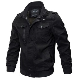 Gothic Men's Casual Stand Collar Slim Jacket