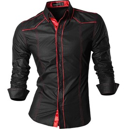 Streetwear Men's Spring Autumn Casual Slim Fit Shirt