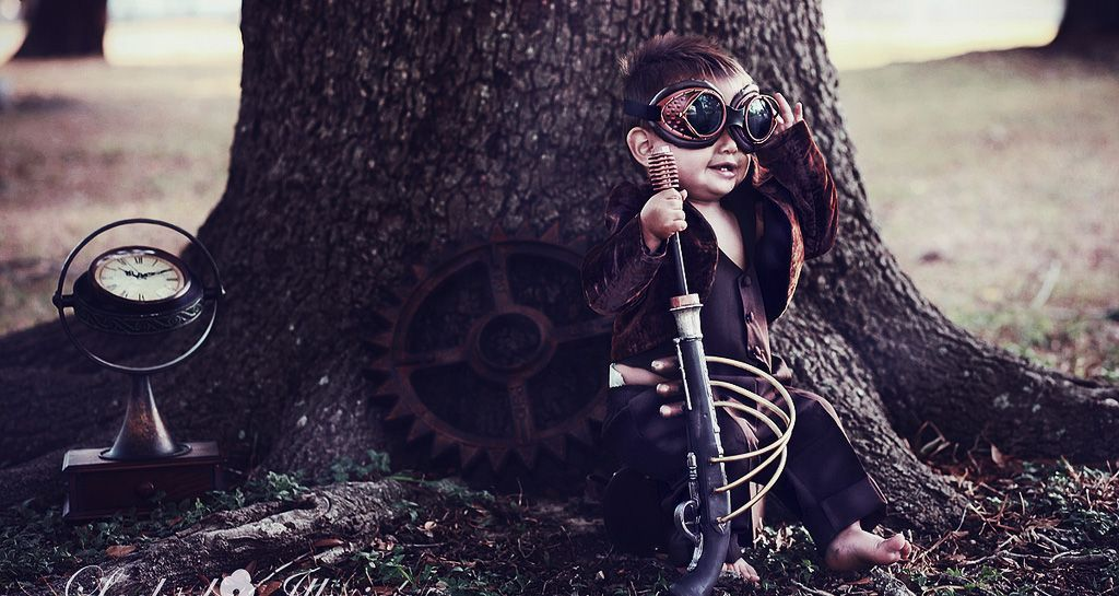 How to Host a Perfectly Steampunk Baby Shower