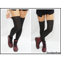 Knee Mock Tights/ Stockings/ Pantyhose Opaque