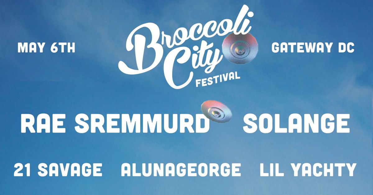 Will You Be Joining RebelsMarket at Broccoli City Festival?