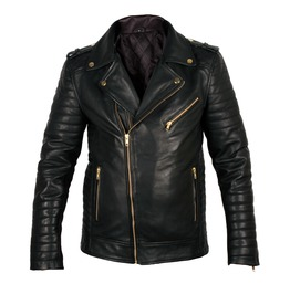 Rebelsmarket black biker leather jacket for mens mens fashion leather jacket jackets 4