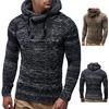 Rebelsmarket turtleneck knitted hooded slim fit sweater cardigans and sweaters 24