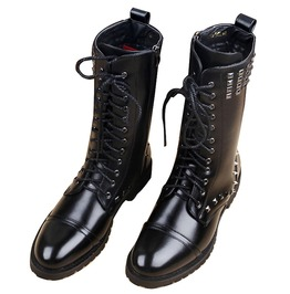 Punk Rock Men's Rivet Studded Boots