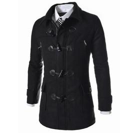 Men's Fashion Hat Detachable Overcoat