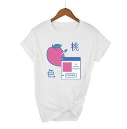 Harajuku Peach Milk Cute T Shirt