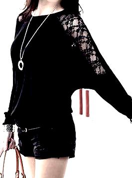 romance_black_lace_bat_wing_design_top_large_leggings_2.jpg