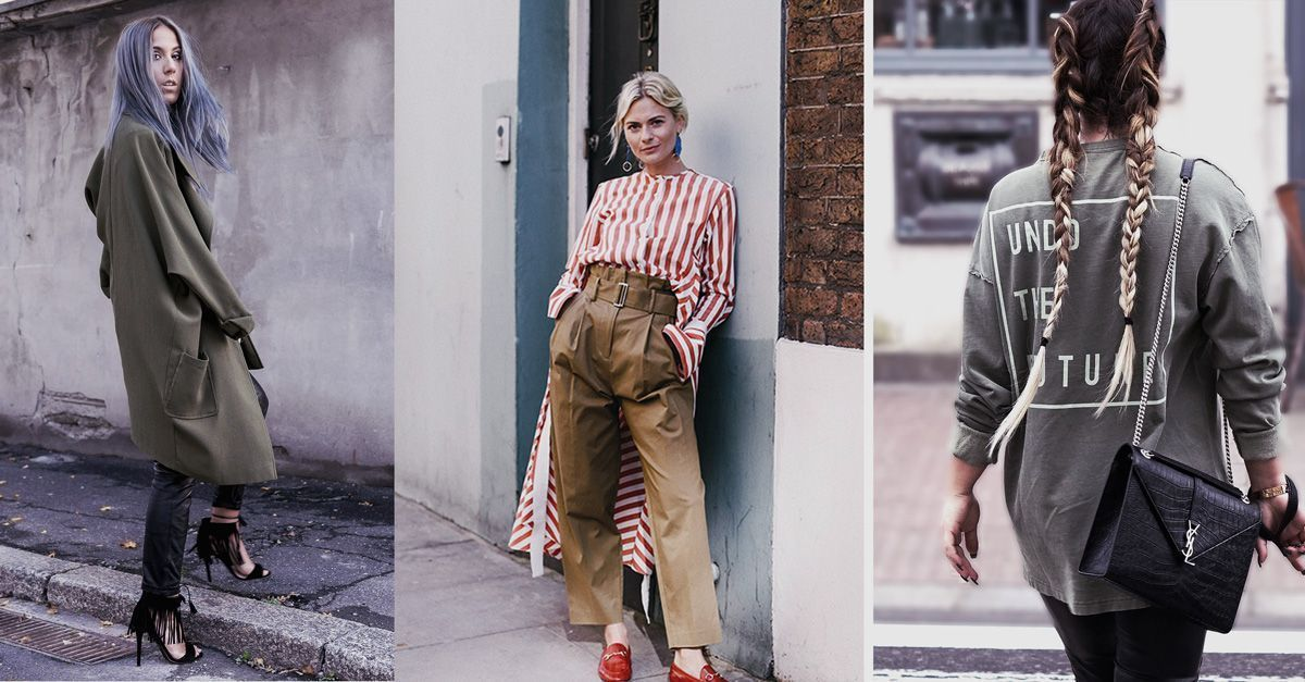 Khaki trend with an alternative twist