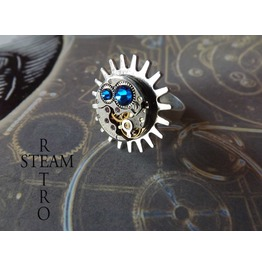 Oceans Rising Steampunk Ring Steampunk Steamretro