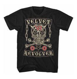 Velvet Revolver Skull T Shirt