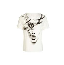White Girl Pattern Short Sleeved T Shirt Tee