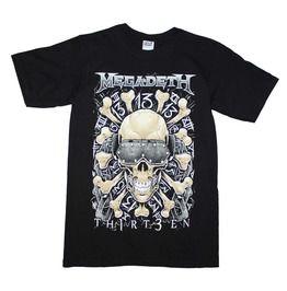 Megadeth Red Bones Regular T Shirt