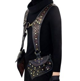 Steampunk Pouch Waist Bag