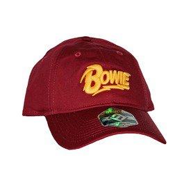 David Bowie Red Cotton Dad Hat