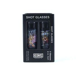 Lynyrd Skynyrd Girls Shot Glasses Set (2 Pack)