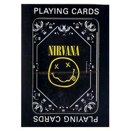 Nirvana Smiley Logo Playing Cards