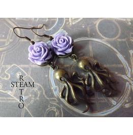 Spawn Cthulhu Steampunk Earrings