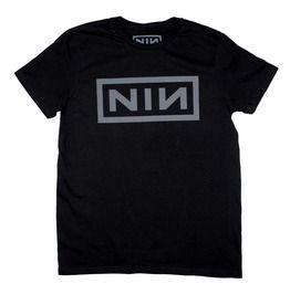 Nine Inch Nails Grey Nin Logo T Shirt