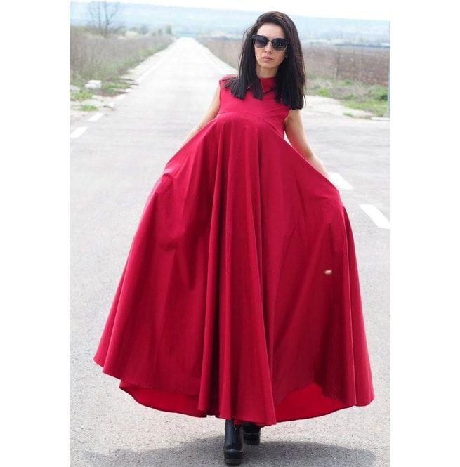 Kaftan Dress/Women Maxi Dress/Plus Size Dress/Extravagant Long Dress