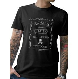 """Tried, Trued, And Tattooed"" Mens Tee"