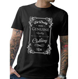 """Tat Daddy Genuine"" Mens Tee"