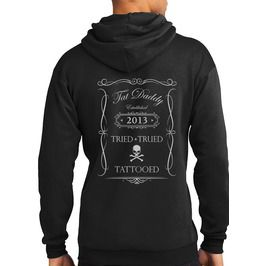 """Tried, Trued, And Tattooed"" Hoodie"