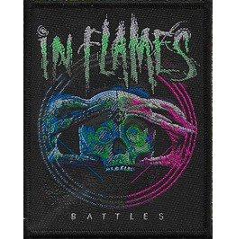 In Flames Battles Patch 7.5cm X 10cm