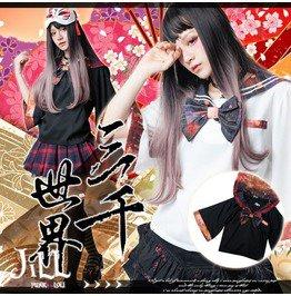 Lolita Oriental Kawaii Grave Of Firefly Sailor Uniform Cropped Top Jj2214