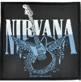 Nirvana Guitar Patch 8.5cm X 10cm
