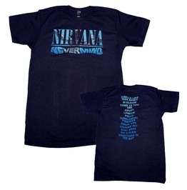 Nirvana Nevermind Album Play List T Shirt