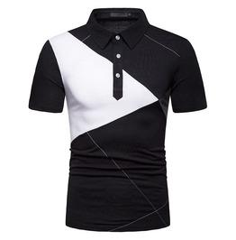 Mens argyle obilque line polo t shirt rebelsmarket