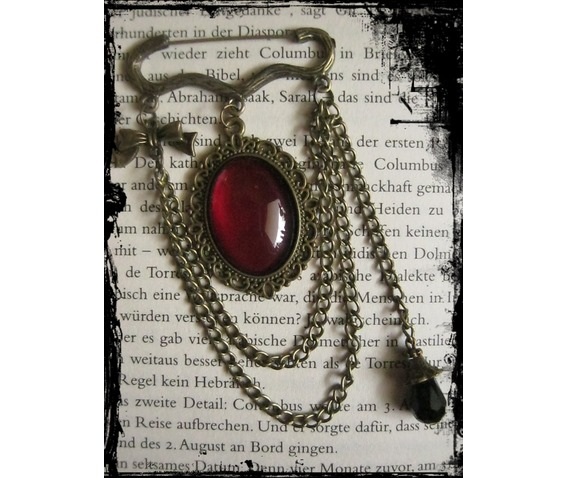 bronze_brooche_chains_red_cabochon_brooches_2.JPG