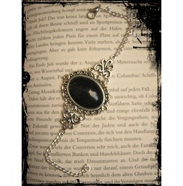 Bracelet Black Cabochon
