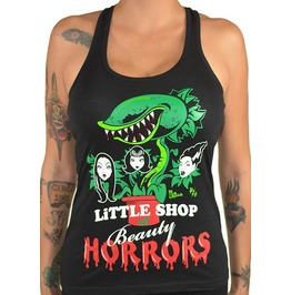 Little Shop Of Beauty Horrors Black Tank