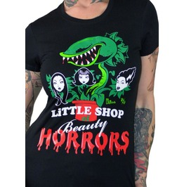 Little Shop Of Beauty Horrors Black T Shirt