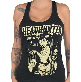 Headhunter Black Racer Back Tank Top