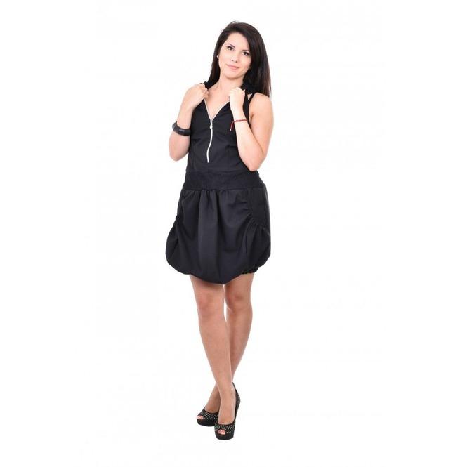 Black Ballon Dress, Hooded Dress, Bodycon Dress, Baggy Plus Size Dress