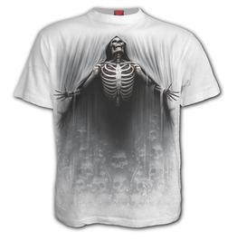 Spiral Direct Death Ribs Skeleton Skull /& Bones Halloween Sleeveless Vest