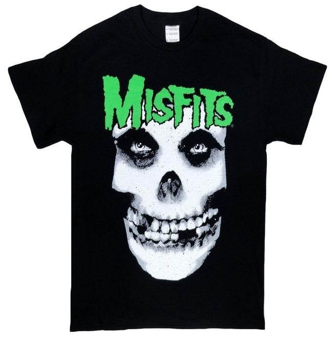 NEW /& OFFICIAL! Misfits /'Jarek Skull/' Zip Up Hoodie
