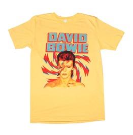 David Bowie Aladdin Sane Gold T Shirt