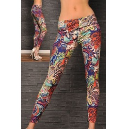 Fancy Colors Tight Leggings