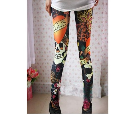 new_multi_color_skull_tight_leggings_leggings_4.JPG