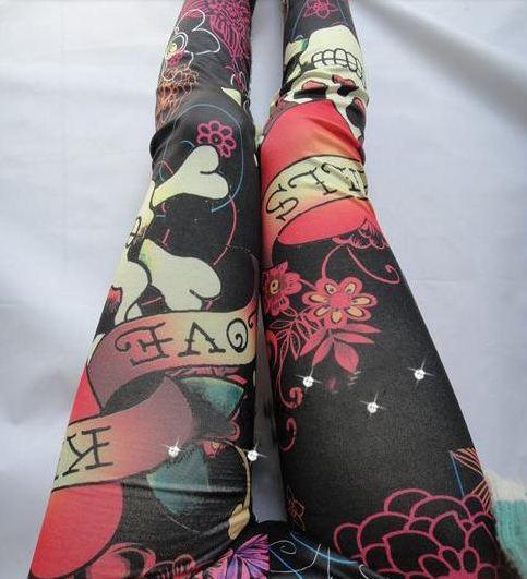 new_multi_color_skull_tight_leggings_leggings_2.JPG