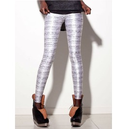 Music Notes Print Tight Leggings