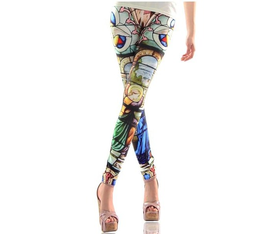 new_colorful_print_tight_leggings_leggings_2.JPG