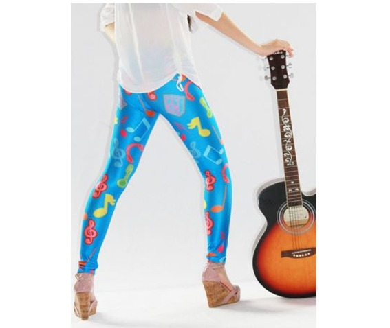 new_musical_note_print_blue_tight_leggings_leggings_6.JPG